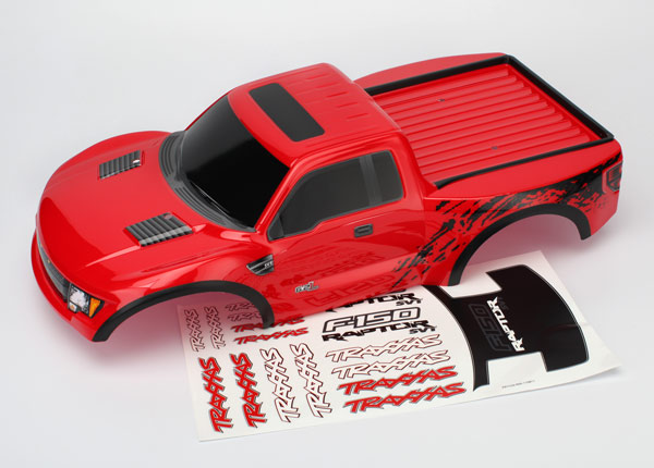 Body, Ford Raptor®, red (painted, decals applied)