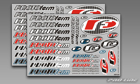 PROTOform Team Decals