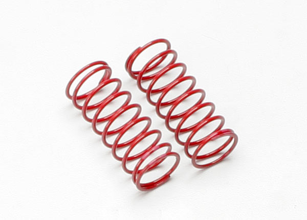 Spring, shock (red) (GTR) (1.4 rate double pink stripe)