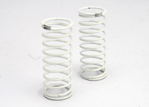 Spring, shock (white) (GTR) (rear) (1.2 rate silver) (1 pair)