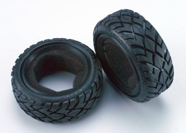 "Tires, Anaconda 2.2"" (wide, front) (2)/foam inserts (Bandit) (soft compound)"