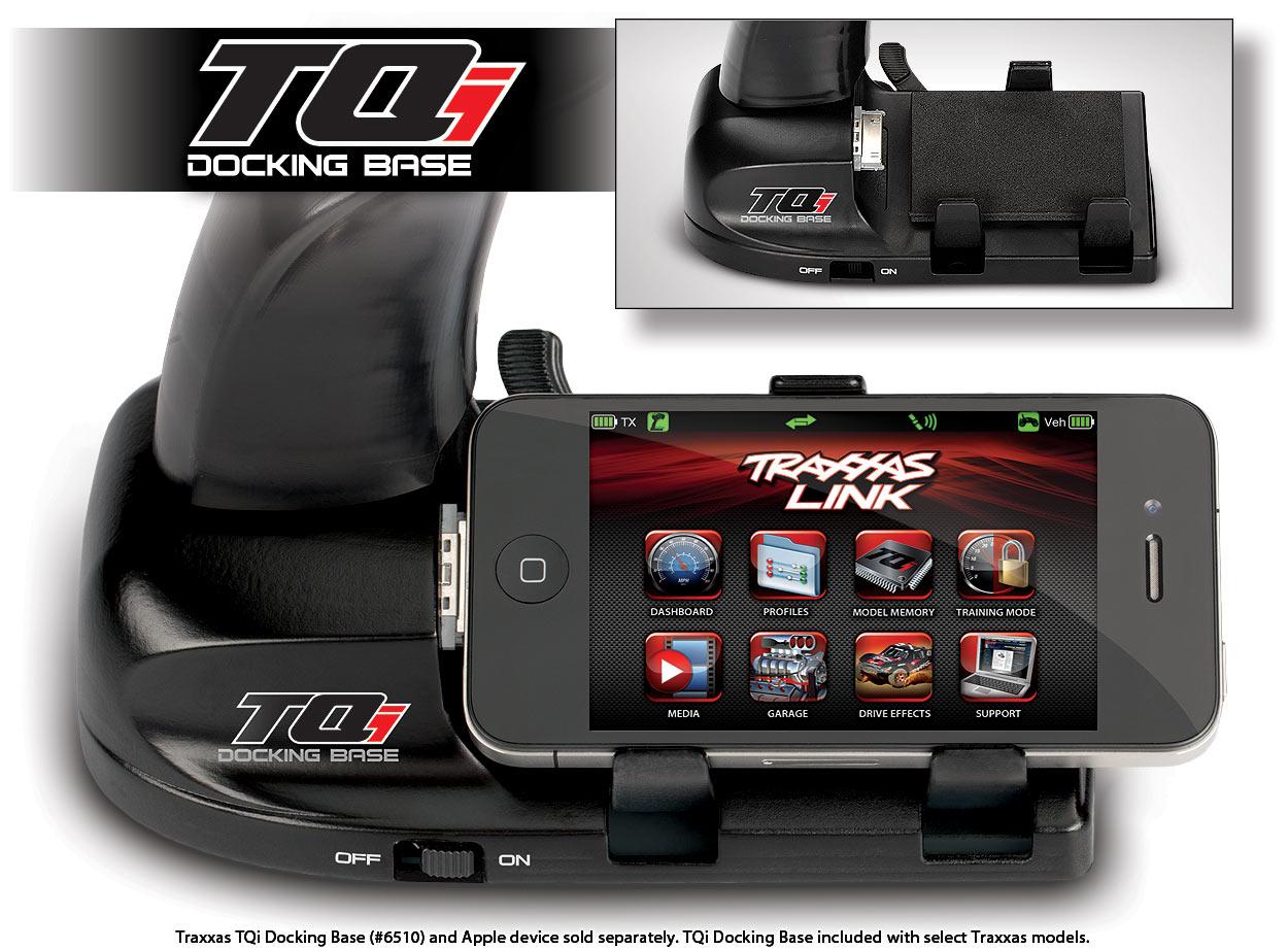 Docking base, TQi 2.4 GHz transmitter (iPod/iPhone)