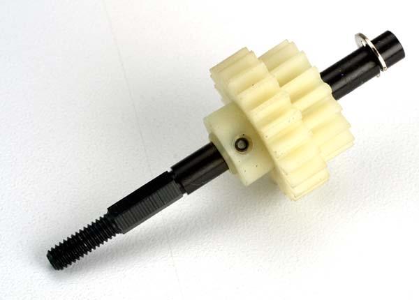 Drive gear, two-speed (17/22-teeth)/ slipper shaft