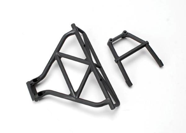 Bumper, rear/ brace, rear