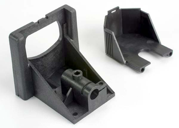 Motor mounting bracket/ gear cover (1) (improved design: older models require upgrading with part #1521R)