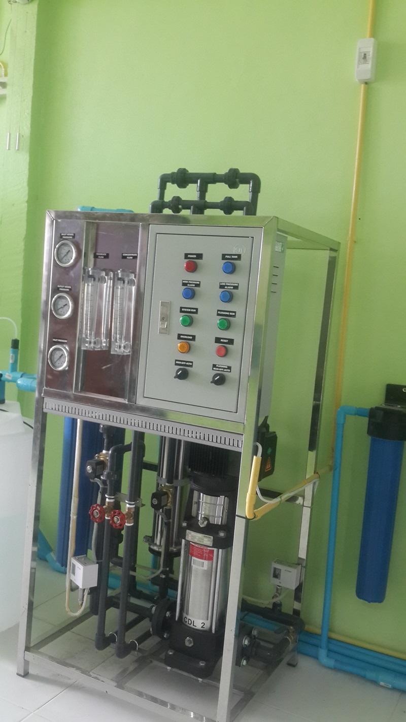 เครื่องกรองน้ำ R.O 12,000 ลิตรต่อวัน