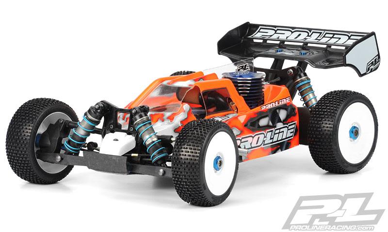 High Downforce BullDog Clear Body for RC8.2