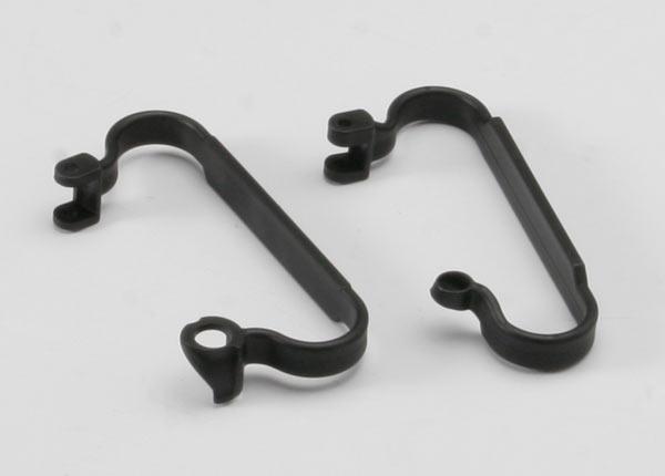 Nerf bars, chassis (black)