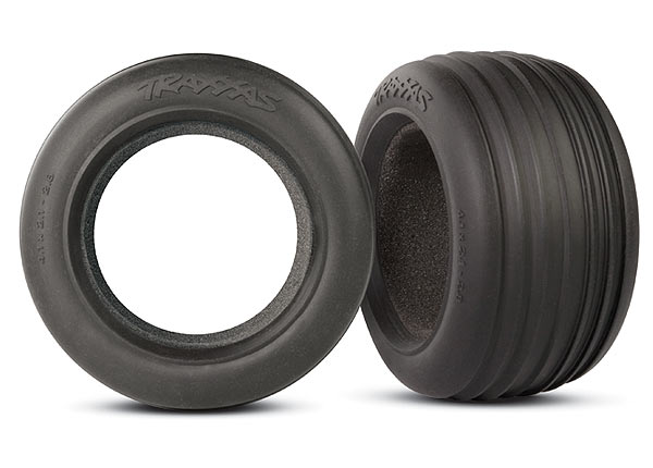 """Tires, ribbed 2.8"""" (2)/ foam inserts (2)"""