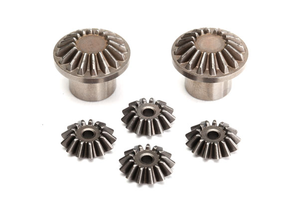 Gear set, rear differential (output gears (2)/ spider gears (4)) (#8581 required to build complete differential)