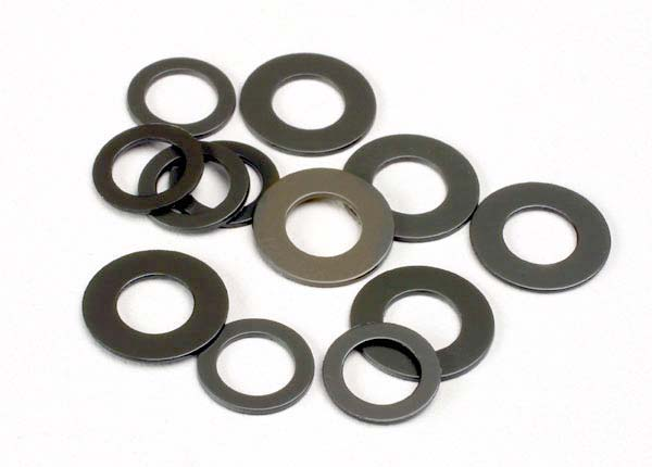 PTFE-coated washers (5x11x.5mm) (use with self-lubricating bushings)
