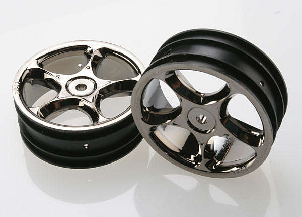 "Wheels, Tracer 2.2"" (black chrome) (2) (Bandit front)"