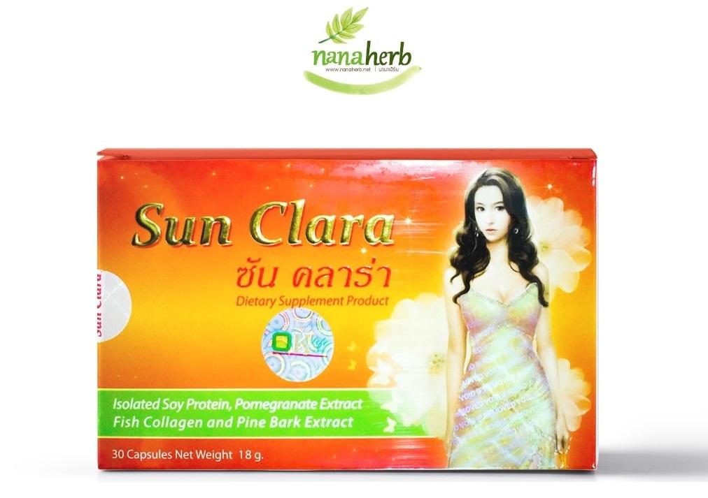 Sun Clara (ซัน คลาร่า) อาหารเสริมสำหรับผู้หญิง