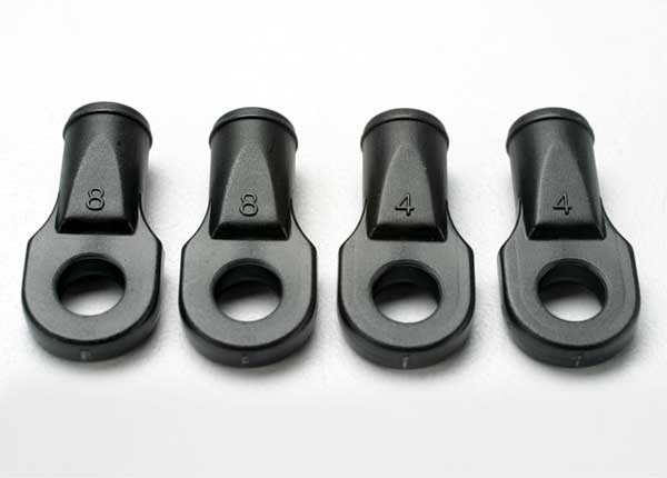 Rod ends, Revo (large, for rear toe link only) (4)