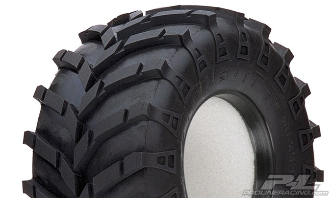 """Masher 2000 2.2"""" All Terrain Truck Tires for Front or Rear"""