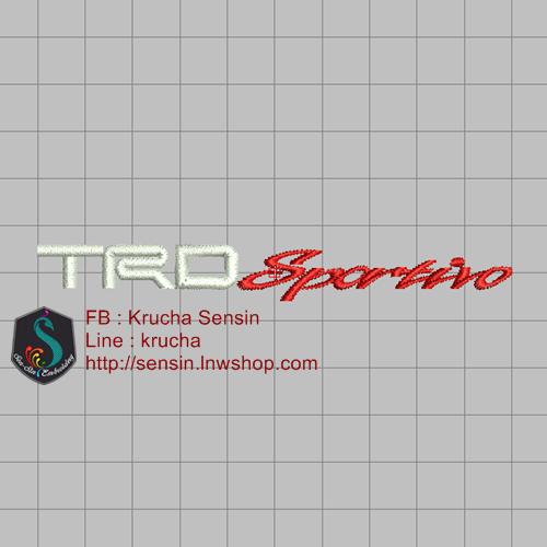 บล็อคปัก TRD Sportivo-1