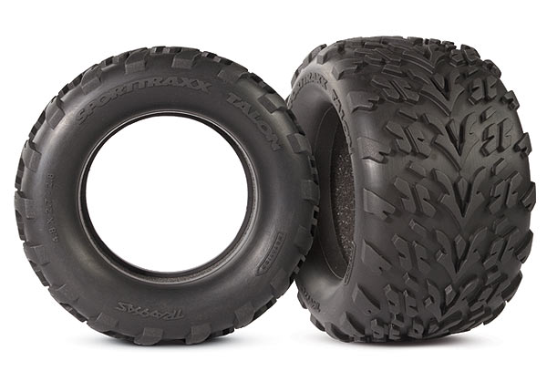 "Tires, Talon 2.8"" (2)/ foam inserts (2)"