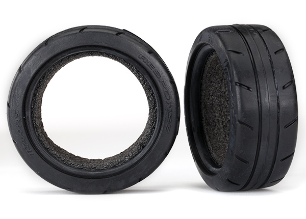 """Tires, Response 1.9"""" Touring (front) (2)/ foam inserts (2)"""