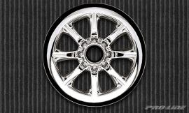 "Agitator 2.2"" Chrome Front Wheels"