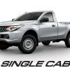 mitsubishi triton single cab 2018