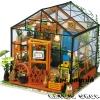 DIY House - Cathy's Flower House เรือนกระจกของเคธี