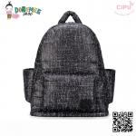 CiPU BACKPACK - BLACK TWEED
