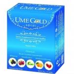 UME GOLD ล้างสารพิษและไขมันอุดตันในหลอดเลือด (1 กล่องมี 10 ซอง)