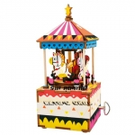 DIY Music Box - Merry Go Round ม้าหมุนสุขสันต์