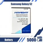 5000mAh EB-F1A2GBU Battery for Samsung Galaxy S2 Battery i9100 Battery 9100 i9100g i9103 i9105 i9108 i9050 i9188