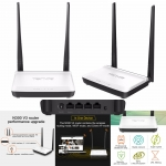 Tenda N300 V3 300Mbps Wireless WiFi Router,Repeater,Wireless AP+Switch+ Firewall Integrated ,IP QoS, WPS,English Firmware,Easy Setup เราเตอร์