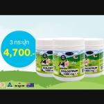 น้ำนมเหลืองแบบเม็ดช่วยในการเจริญเติบโต AuswellLife Colotrum Tablet 1,000 mg. IgG 60 mg. 365 เม็ด 3 กระปุก