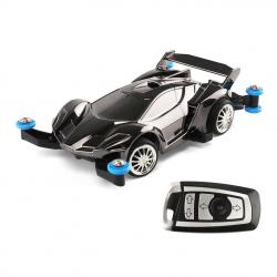 รถบังคับวิทยุขนาดเล็ก (สีดำ) บังคับรีโมท 2.4 ขนาด 1:43 เล่นได้นานกว่า 15 นาที พร้อมสายชาร์ต USB พร้อมเล่นทันที แข่งกับเพื่อนได้