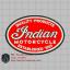 บล๊อคปักอาร์ม Indian1-พื้นผ้าแดง