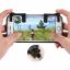 Shooting Tap ปุ่มช่วยยิงเกมส์แนว Battle Royale [สินค้าขายที่ลาซาด้าเท่านั้น] เช่น Rules of Survival , FreeFire , PUBG รองรับมือถือขนาด 4.5-6.5 นิ้ว ทั้ง Android และ IOS ล็อคแน่น ไม่หลุดง่าย ขายเป็นคู่ พร้อมเปลี่ยนกากเป็นเทพได้ทันที
