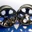 "Wheels, All-Star 2.8"" (black chrome) (electric rear)"