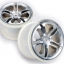 "Wheels, SS (split spoke) 3.8"" (satin) (2) (fits Revo/Maxx series)"