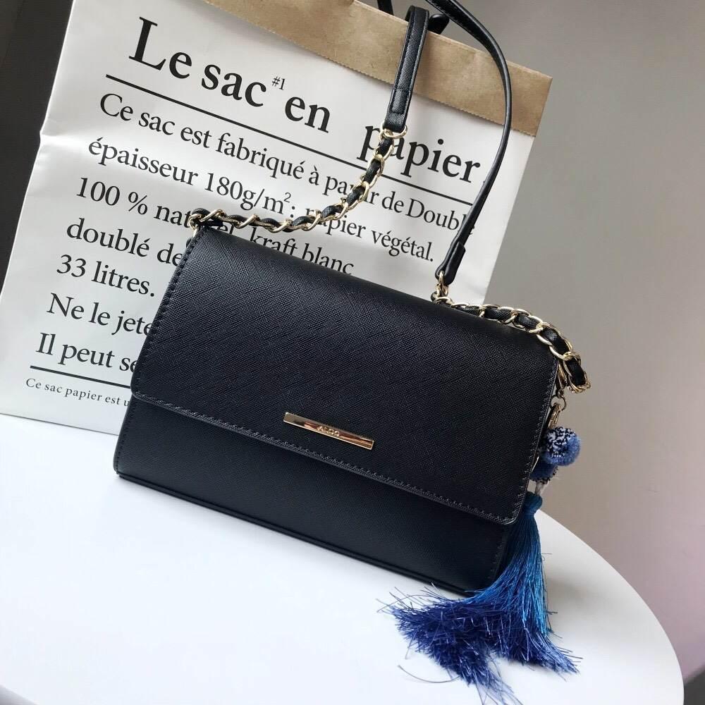 กระเป๋าAldo Chatfield Crossbody bag สีดำ - jtbebagขายกระเป๋าแบรนด์เน ... 648899fc359cd