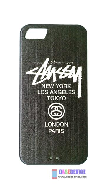 เคส iphone 5, 5S, SE TPU ลาย LONDON PARIS สีดำ