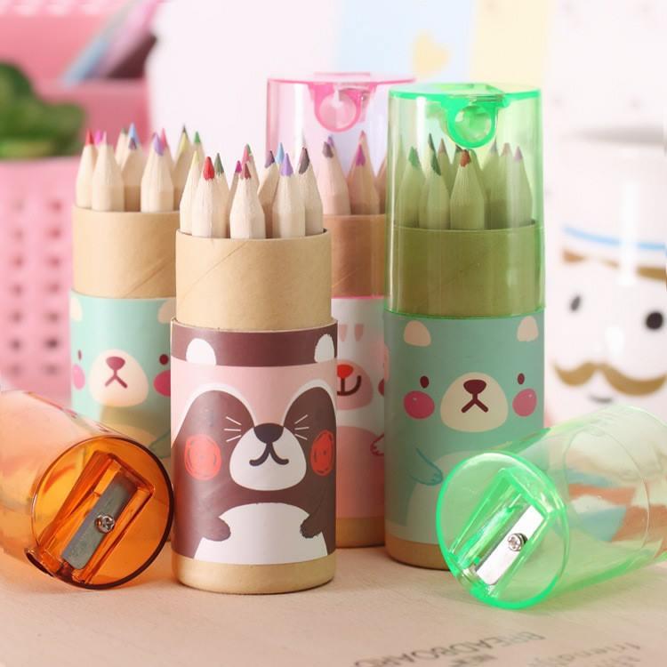 ดินสอระบายสีรุ่นมินิ