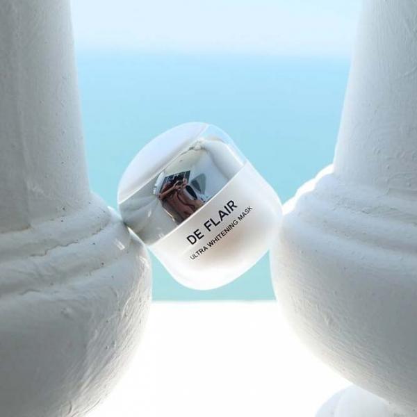 รูปภาพสินค้า DE FLAIR Ultra Whitening Mask ครีม มาส์ก บำรุงผิวหน้า